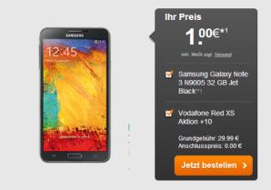 Vodafone Red XS Allnet Flat ab effektiv 9,28 Euro bei handyflash erhältlich