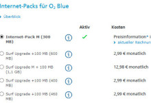 o2 Internet-Packs