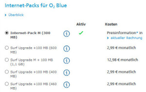 o2 Data-Packs