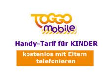 TOGGO mobile: Handy Tarif für Kinder
