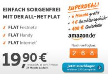 Top Deal bei simyo – All-Net-Flat 230 Euro günstiger zu erhalten