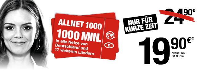 Ortel Mobile Allnet 1000 für nur 19,90 Euro im ersten Monat