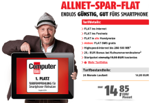 Klarmobil.de Allnet-Spar-Flat 5 Euro günstiger