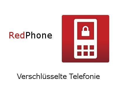 RedPhone sicher Telefonieren