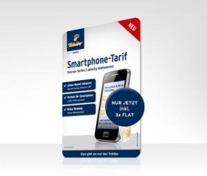 Smartphone Tarif mit 3 Flatrates im Angebot