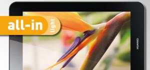 BASE all-in light - eine Allnet-Flatrate mit Tablet im Handel