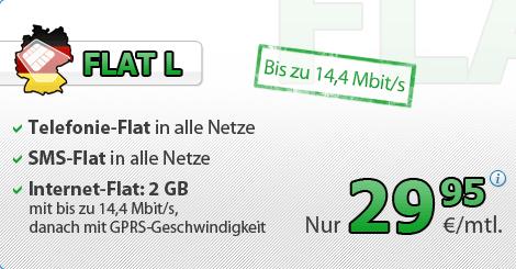 2 Gb Datenvolumen Mit Der Allnet Flatrate Bei Deutschlandsim Im Angebot