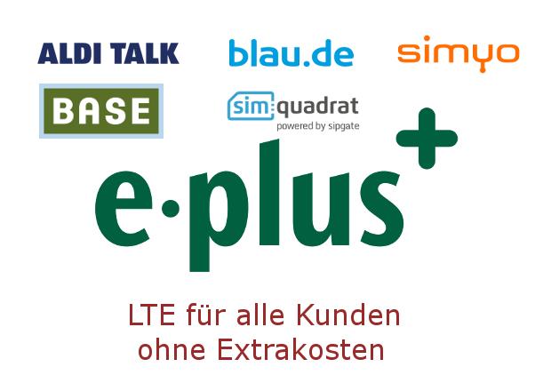 -Plus LTE ist für alle Freigeschaltet