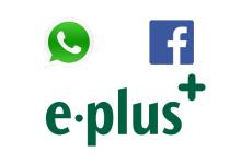 E-Plus mit WhatsApp und Facebook