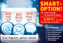 Smartphone Tarif von Edeka Mobil 5 Euro günstiger bis Ende märz