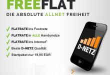 FreeFlat im Telekom Netz von freenetmobil