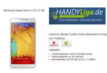 Samsung Galaxy Note 3 mit Allnet-Flat für 24,95 Euro bei handyliga