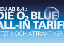 o2 Blue-In Tarif mit LTE und Roaming Internet