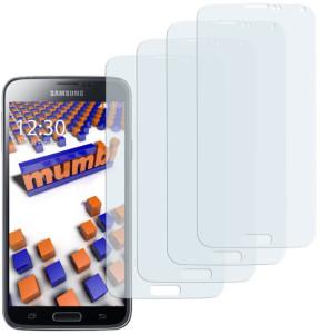 Schutzfolie von mumbi für Smasung Galaxy S5
