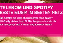 Musik Flatrate im Prepaid Tarif von Telekom