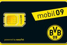 mobil09 Mobilfunkanbieter von BVB Dortmund