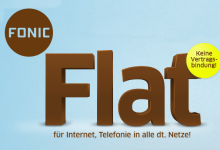 Fonic Allnet Flat nur 9,99 Euro im Monat