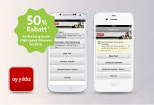 50% Rabatt bei Buchung bei Nutzung der Prepaid APP von ay yildiz