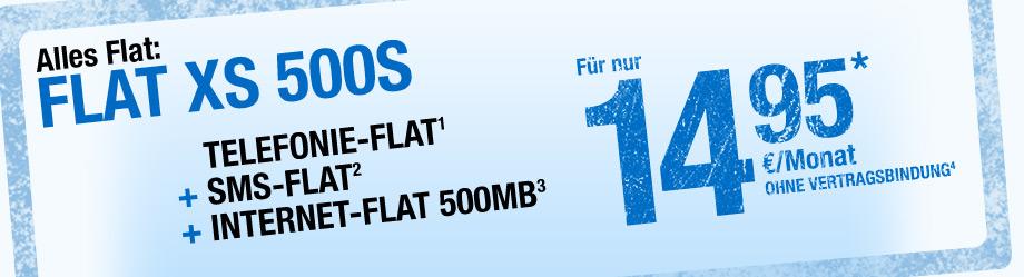 smartmobil Tarif Flat XS 500 S