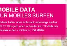Neue Datentarife von Telekom