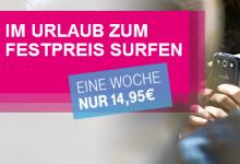 Telekom Im Urlaub zum Festpreis Surfen