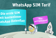 WhatsApp SIM Prepaid Tarif ist bestellbar