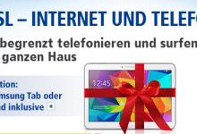 Galaxy Tab bei 1 & 1 für DLS-Tarife