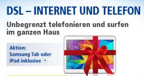 Galaxy Tab 4 10.1 günstig bei 1&1 mit DSL-Tarifen erhältlich
