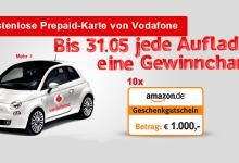 Vodafone CallYa Freikarte mit Gratis Datenvolumen