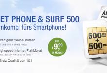 All-Net Phone & Surf 500 – Smartphone Tarif von gmx.de und web.de