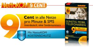 Prepaid Tarif von NettoKom