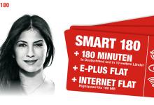 Neue Zusatzoption Smart 180 für Auslandstelefonie und Internet-Flat