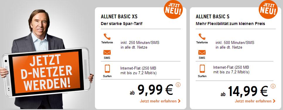 Neue Postpaid Smartphone Tarife
