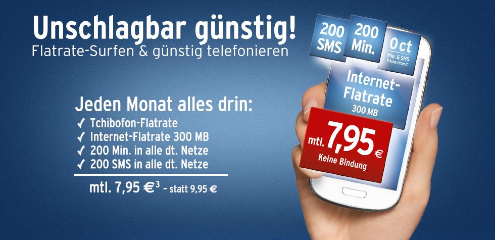 Smartphone Tarif ohne Vertragsbindung 2 Euro günstiger