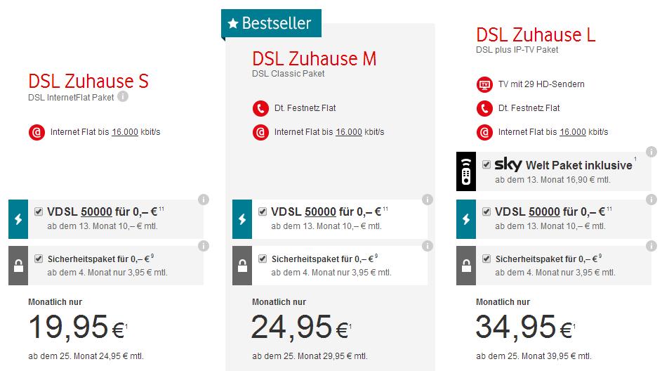 Zuhause Plus von Vodafone und Kabel Deutschland