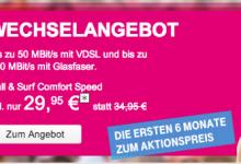 Telekom mit neuen Tarifen und Wechselvorteil
