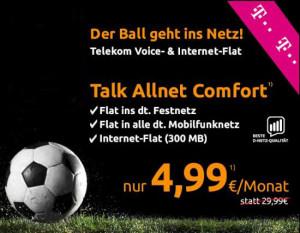 Allnet-Flat im Telekom Netz unter 5 Euro