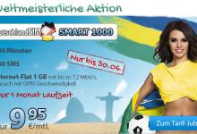 WM Aktion von DeutschlandSIM – Smart 1000