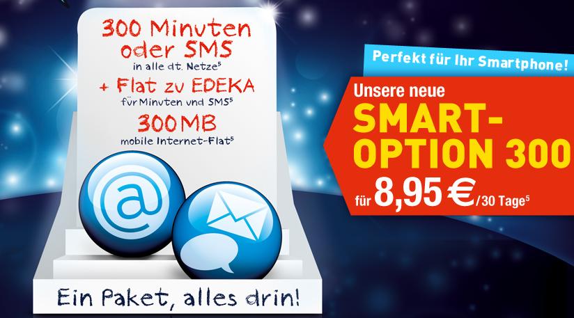 Edeka Mobil mit neuer Smart-Option 300