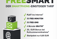 freeSMART Tarif von freenetmobile