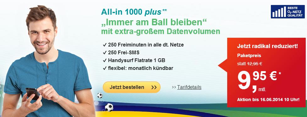 WM Aktion - All In1000 25% günstiger