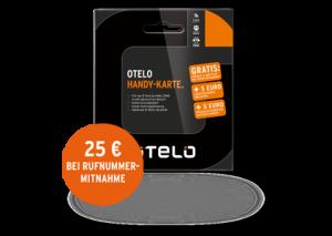Prepaid SIM Karte von Otelo