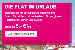 Telekom: All Inclusive Option für das EU-Ausland ab 1. Juli