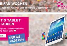 Telekom mit WM Aktion
