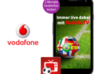 MobileTV 2 Monate Gratis und 100 MB Datenvolumen für alle Vodafone Kunden pro Tor der Nationalmanaschaft