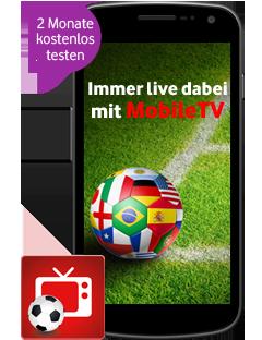 MobileTV 2 Monate Gratis bei Vodafone