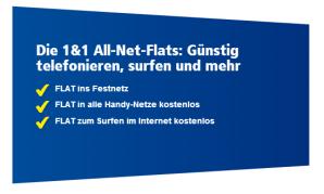 1&1 startet Mobilfuntarife mit LTE im E-Netz