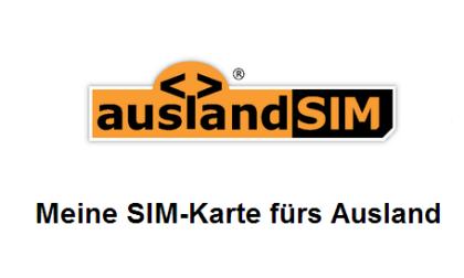 Prepaid SIM-Karte für Ausland