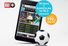 BILDplus und bundesliga für BASE all-in Kunden inklusive