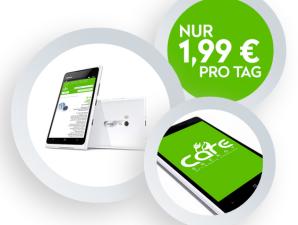 Care-Enery: Allnet-Flat mit 1 GB LTE als Tagespaket für 1,99 Euro